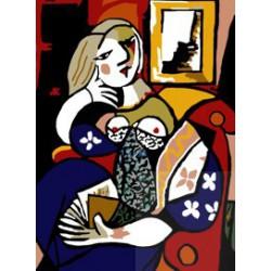 Kobieta z książką - Picasso