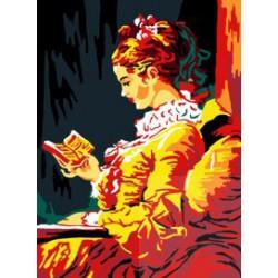 Dziewczyna czytająca książkę