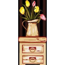 Tulipany w dzbanku