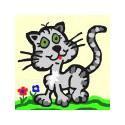 Wesoły kotek