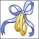 Obrączki - kanwa z nadrukiem