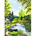Wiosna nad rzeką